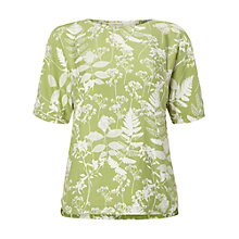 Buy White Stuff Chive Top, Lily Green Online at johnlewis.com