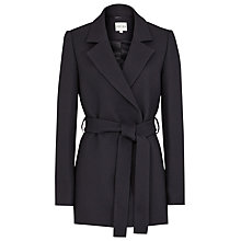Buy Reiss Grazia Belted Coat, Night Navy Online at johnlewis.com
