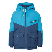 Buy John Lewis Boys' Sporty Jacket, Blue Online at johnlewis.com