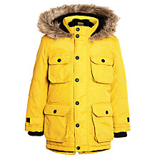 Buy John Lewis Boy Explorer Arctic Parka, Yellow Online at johnlewis.com