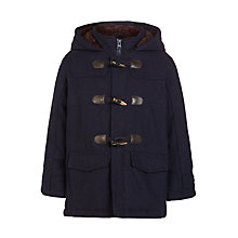 Buy John Lewis Boys' Duffel Coat, Navy Online at johnlewis.com