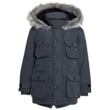 Buy John Lewis Boy Explorer Arctic Parka, Grey Online at johnlewis.com