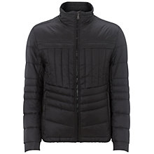 Buy BOSS Green Joven Short Bomber Jacket, Black Online at johnlewis.com