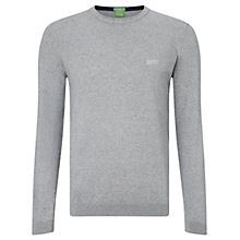 Buy BOSS Green C-Clark Crew Neck Jumper Online at johnlewis.com