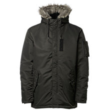 Buy Selected Homme Chad Parka, Gunmetal Online at johnlewis.com