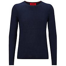 Buy HUGO by Hugo Boss Sabinus Crew Neck Jumper Online at johnlewis.com