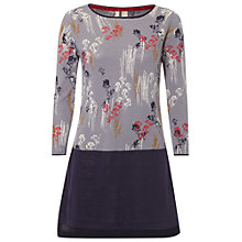 Buy White Stuff Fragrant Flower Tunic Top, Purple Online at johnlewis.com