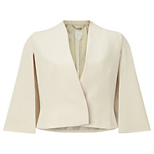 Buy Phase Eight Number 8 Six Cape Jacket, Champagne Online at johnlewis.com