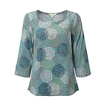 Buy White Stuff Wishful Blouse, Hyacinth Green Online at johnlewis.com