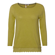 Buy White Stuff Garden Party Knitted Top, Lily Green Online at johnlewis.com