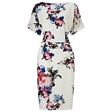 Buy Phase Eight Zoe Floral Dress, Cream/Multi Online at johnlewis.com