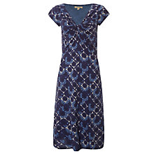 Buy White Stuff Go Crazy Jersey Dress, Oceania Blue Online at johnlewis.com
