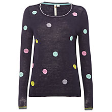 Buy White Stuff Peony Spot Jumper Online at johnlewis.com