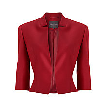 Buy Phase Eight Verona Jacket, Cherry Online at johnlewis.com