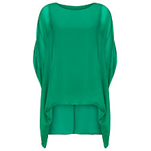 Buy Phase Eight Layla Oversized Silk Blouse Online at johnlewis.com