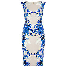 Buy Phase Eight Porcelain Print Dress, Multi Online at johnlewis.com