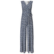 Buy Phase Eight Bette Print Jumpsuit, Navy/White Online at johnlewis.com