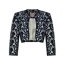 Buy Phase Eight Victoria Lace Jacket, Navy Online at johnlewis.com