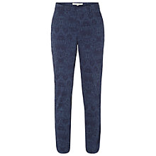 Buy White Stuff Merton Trousers, Oxford Blue Online at johnlewis.com