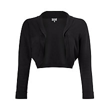 Buy Phase Eight Shawl Collar Bolero, Graphite Online at johnlewis.com