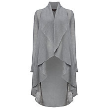 Buy Phase Eight Margherita Linen Cardigan, Grey Online at johnlewis.com