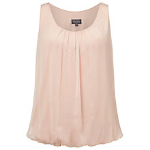 Buy Phase Eight Lua Silk Blouse, Camel Pink Online at johnlewis.com