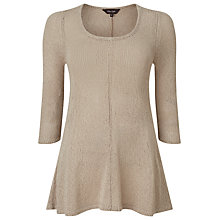 Buy Phase Eight Cali Swing Knitted Jumper, Stone Online at johnlewis.com