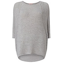 Buy Phase Eight Yarn Aideen Jumper, Silver Online at johnlewis.com