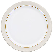 Buy Denby Natural Canvas Plate Online at johnlewis.com