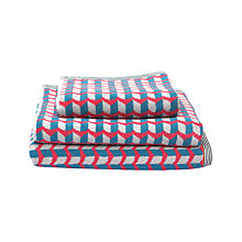 Buy Margo Selby for John Lewis Maple Towels, Red Online at johnlewis.com