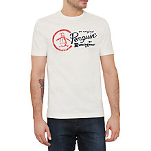 Buy Original Penguin Script Combo Logo Crew Neck T-Shirt Online at johnlewis.com