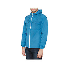 Buy Original Penguin Hydro Print Showerproof Festival Jacket, Deep Water Online at johnlewis.com
