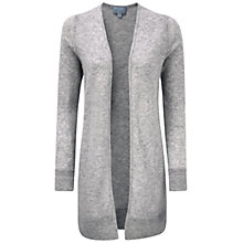 Buy Pure Collection Barberry Sustainable Cashmere Longline Cardigan, Heather Dove Online at johnlewis.com