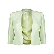 Buy Jacques Vert Petite Edge To Edge Jacket, Mint Online at johnlewis.com