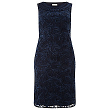 Buy Windsmoor Cornelli Dress, Navy Online at johnlewis.com