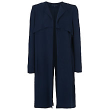 Buy French Connection Rikki Crepe Duster Coat, Nocturnal Online at johnlewis.com