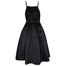 Buy True Decadence Contrast Lace Prom Dress, Black Online at johnlewis.com