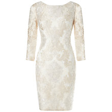 Buy Aidan Mattox Lace Cocktail Dress, Ivory Online at johnlewis.com