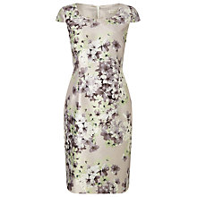 Buy Jacques Vert Petite Enchanted Blossom Shift Dress, Neutral Online at johnlewis.com