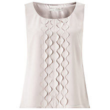 Buy Jacques Vert Applique Beaded Top, Soft Grey Online at johnlewis.com