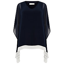 Buy Windsmoor Border Kaftan Top, Navy Online at johnlewis.com