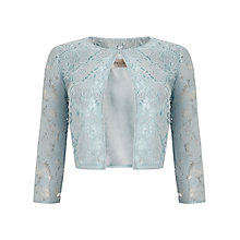 Buy Precis Petite Lace Crop Jacket Online at johnlewis.com