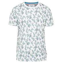 Buy Ted Baker Parrot Print T-Shirt, Ecru Online at johnlewis.com