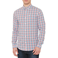 Buy Original Penguin Long Sleeve Plaid Shirt, Multi Online at johnlewis.com