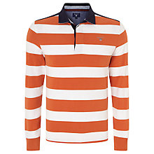 Buy Gant Stripe Heavy Rugby Shirt Online at johnlewis.com