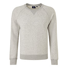 Buy Gant Embossed Jersey Top, Grey Online at johnlewis.com