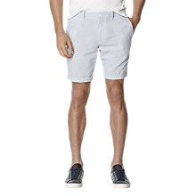 Buy Original Penguin Horizontal Striped Shorts, True Blue Online at johnlewis.com