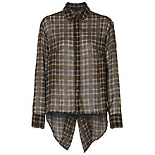 Buy French Connection Masai Check Shirt, Antelope/Multi Online at johnlewis.com