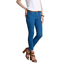 Buy Pure Collection Canby Cropped Jeans, Heritage Wash Online at johnlewis.com