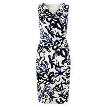 Buy Hobbs Marnie Dress, Ivory Ink Online at johnlewis.com